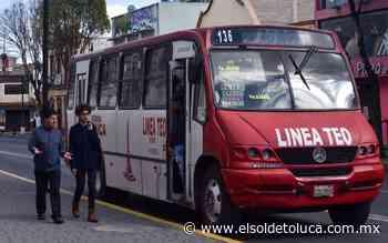 Bajan pasaje y clausuran servicio de transporte en Tianguistenco y Almoloya del Río - El Sol de Toluca