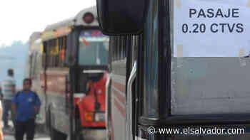 Subir el pasaje y no usar celular: las diez exigencias de los transportistas para trabajar en la reapertura - elsalvador.com