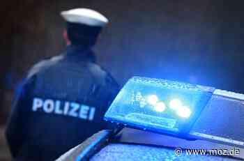 Polizei: Betrunkene Frau aus Marwitz beißt Beamten in den Arm - Märkische Onlinezeitung