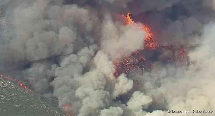 Thousands Of Homes Still Under Threat From Lake Fire