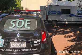 Presos são transferidos da cadeia de Santa Helena - O Paraná