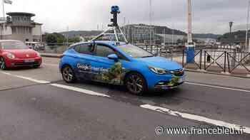 Une voiture Google Street View se balade à Cherbourg pour prendre des photos - France Bleu