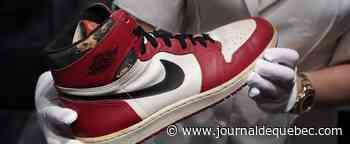 Vente record de 615 000 dollars pour une paire de Air Jordan 1