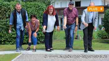 Ran an die Kugeln: In Kissing wird jetzt Boule gespielt - Augsburger Allgemeine