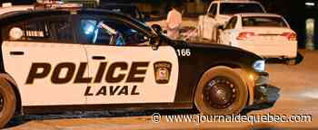 Laval: un automobiliste atteint par des coups de feu après une altercation avec un cycliste