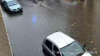 VIDÉO. Inondations dans le quartier de Graville au Havre suite aux violents orages en Normandie - Paris-Normandie