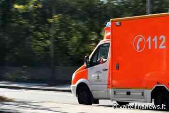 Cosio Valtellino incidente stradale tra auto e moto - Valtellina News