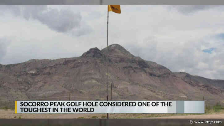 Socorro Peak golf hole considered one of the toughest in the world