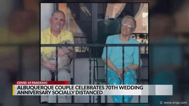 Albuquerque couple celebrates 70th wedding anniversary
