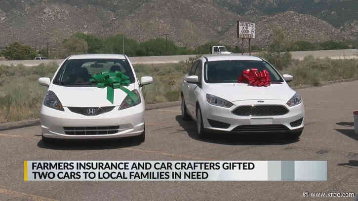 Car Crafters, Farmer's Insurance award cars to families in need