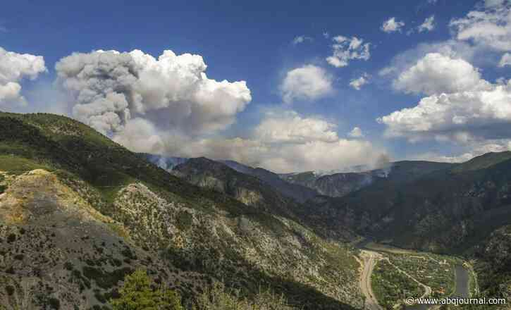 Western Colorado fires grow in warm weather, drought