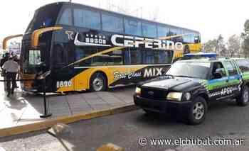 Trelew: Llegó otro micro desde Buenos Aires - Diario EL CHUBUT