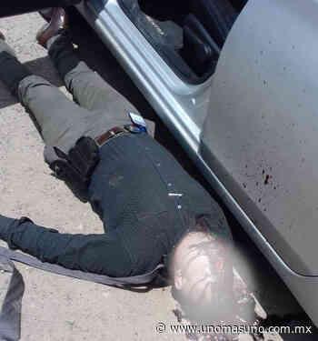 En tiroteo un ministerial muerto y un GN herido en Leon Gto. - UnomásUno