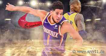NBA: Devin Booker von Phoenix Suns brilliert - inspiriert von Kobe Bryant - SPORT1