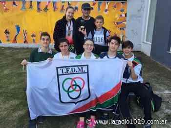 Natación: Sobresaliente participación de Tiro en Marcos Juarez - laradio1029.com.ar
