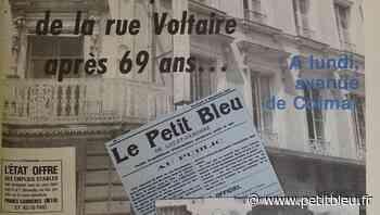 Quand Le Petit Bleu déménageait Avenue de Colmar - LePetitBleu
