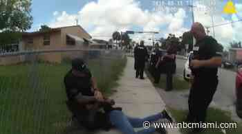 Bodycam Shows Miami-Dade Officer Kneeling on Man's Back