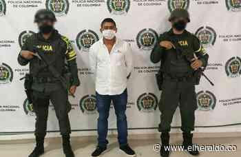 Capturado presunto cabecilla del 'Clan del Golfo' en Córdoba - EL HERALDO