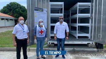 En pico más alto, Córdoba recibe contenedor para cadáveres Covid- 19 - El Tiempo