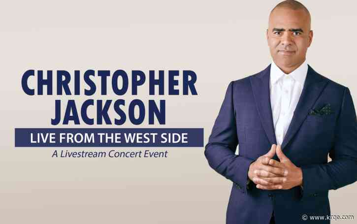 Livestream concert with Hamilton's Christopher Jackson to benefit Popejoy Hall