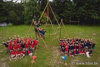 Chirojongens van Boxbergheide bubbelen in Dendermonde (Genk) - Het Belang van Limburg