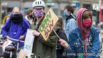 Klimacamp: Fridays for Future zeltet jetzt dauerhaft auf dem Gänsemarkt