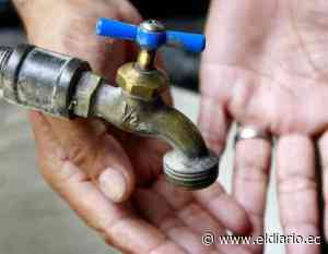 Este viernes en Manta habrá suspensión de agua potable - El Diario Ecuador