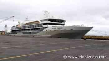 Crucero que brindará servicio turístico en las islas Galápagos arribó a Manta - El Universo