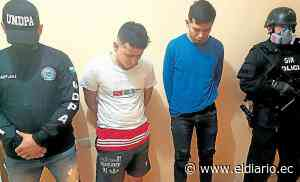 MANTA: Policía detiene a dos hombres acusados de asesinato - El Diario Ecuador