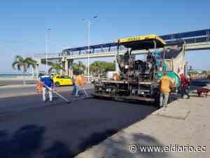 Manta: Malecón estará en dos semanas - El Diario Ecuador