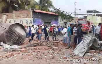 Una explosión en procesadora de atún en Manta deja dos fallecidos y 9 heridos - El Comercio (Ecuador)