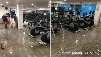 Plas Madoc Leisure Centre flooded amid thunderstorms - LeaderLive