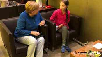 Zusammen mit Neubauer: Thunberg trifft Merkel zum Klima-Krisentalk
