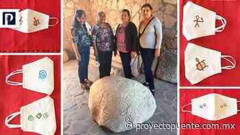 Al no vender blusas, vestidos y bolsas de manta, artesanas mayo elaboran cubrebocas con diseños ancestrales - Proyecto Puente