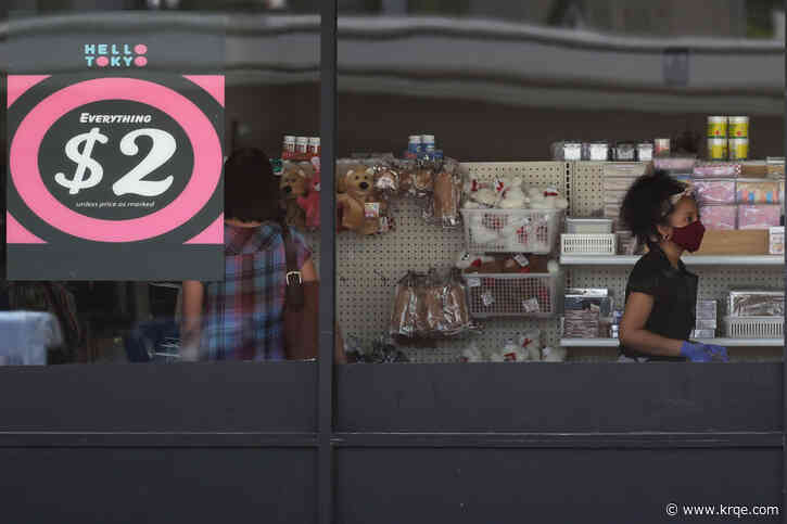 US retail sales regain pre-virus level but slowdown likely