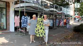 Kleider hinter Baugerüsten: Harburger Boutique – von Baustellen verfolgt