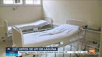 Dez leitos de UTI são inaugurados no hospital de Laguna - G1