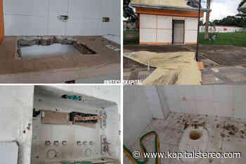 Ladrones destruyeron local en el parque de la juventud en Arauca - Kapital Stereo