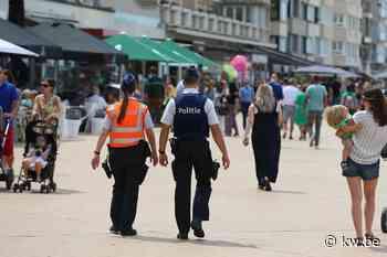 Extra politieagenten ingezet aan de kust