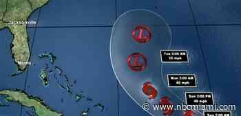 Tropical Storm Josephine Weakens Friday; Not Expected to Strike U.S.: NHC