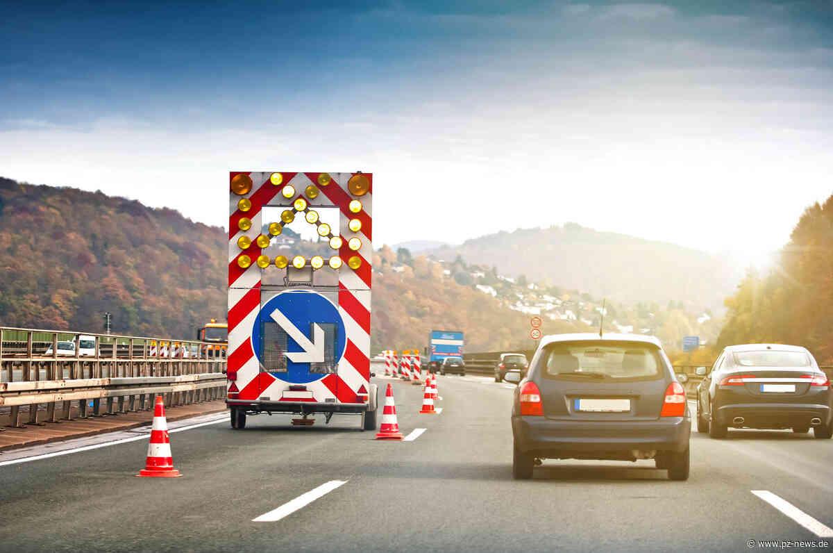 Baustelle ab kommender Woche: A8 zwischen Karlsbad und Pforzheim wird saniert - Pforzheim - Pforzheimer Zeitung