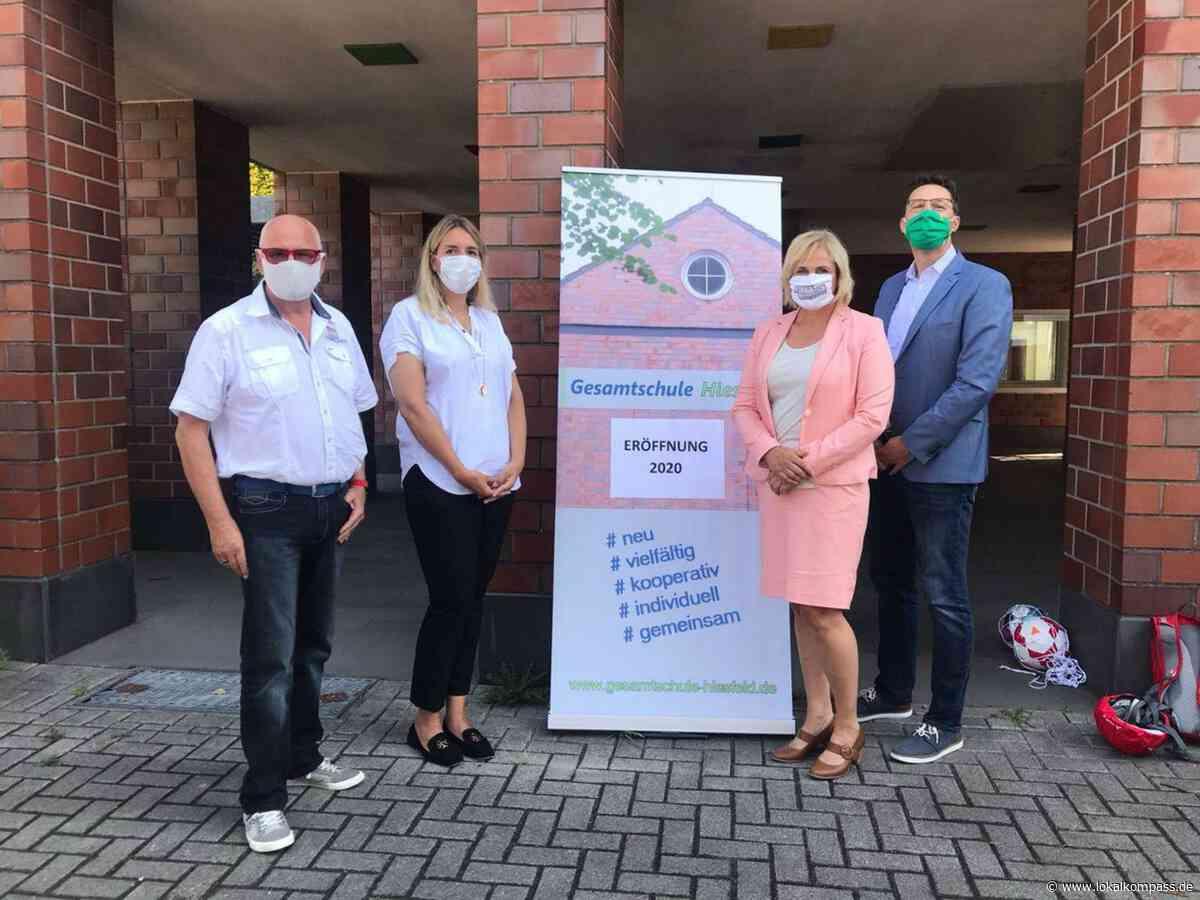 Gesamtschule: Eröffnung der Gesamtschule in Hiesfeld - Dinslaken - Lokalkompass.de