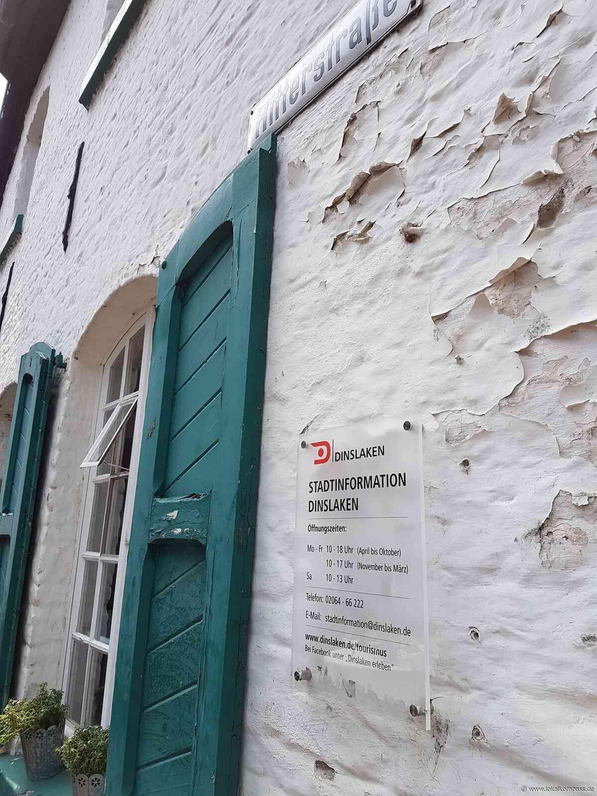 Fassadenarbeiten sind abgeschlossen: Stadtinfo ist wieder am Rittertor - Dinslaken - Lokalkompass.de