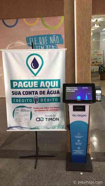 Águas de Timon disponibiliza terminal de autoatendimento em shopping - Piauí Hoje