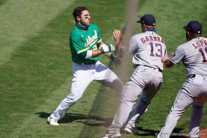 Ramon Laureano's Suspension Reduced To Four Games