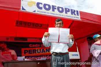 Lambayeque: buscan formalizar propiedad de 1250 familias de Chiclayo y Picsi - Mercados & Regiones