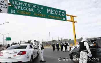 México plantea a EE.UU. mantener restricciones en la frontera hasta el 21 de septiembre