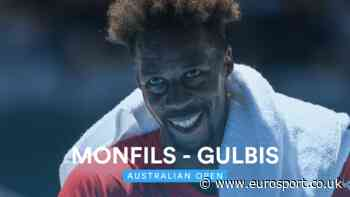 Australian Open 2020 video - Gael Monfils downs Ernests Gulbis in straight sets - Eurosport.co.uk