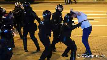 Polizeigewalt nach Wahlen: EU bringt Belarus-Sanktionen auf den Weg
