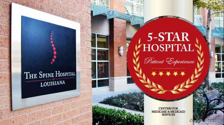 Baton Rouge hospital earns 5-star rating for 6th year in a row